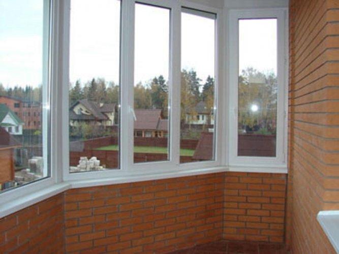 Остекление пластиковыми окнами лоджий и балконов