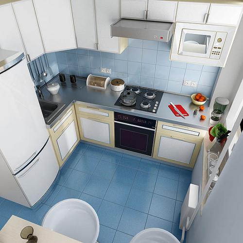 Изменение интерьера кухни в старых домах