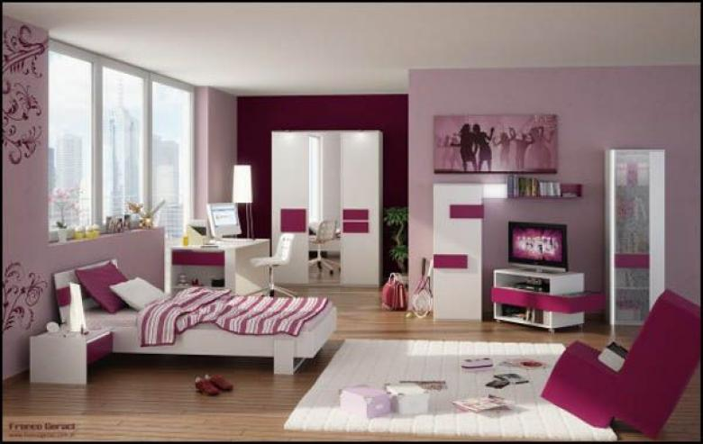 Дизайн комнаты девочки-подростка