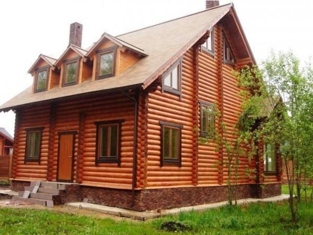 Строительство частных домов из оцилиндрованного дерева