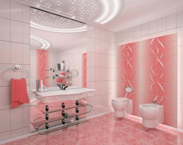 Квартира в розовом цвете
