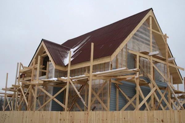 Строительство собственного деревянного дома