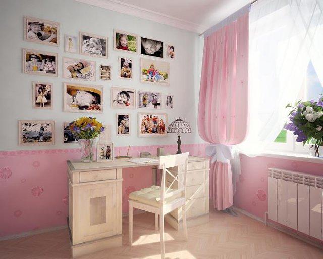 Планируем интерьер детской комнаты