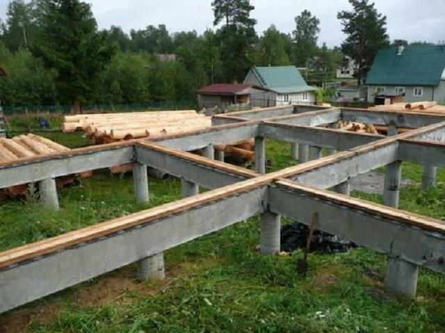 Как выбрать фундамент для постройки дома