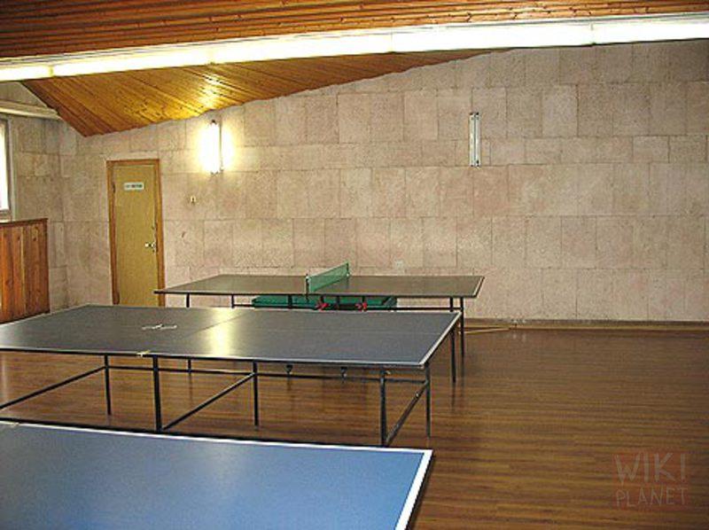 Строительство зданий для игры в настольный теннис