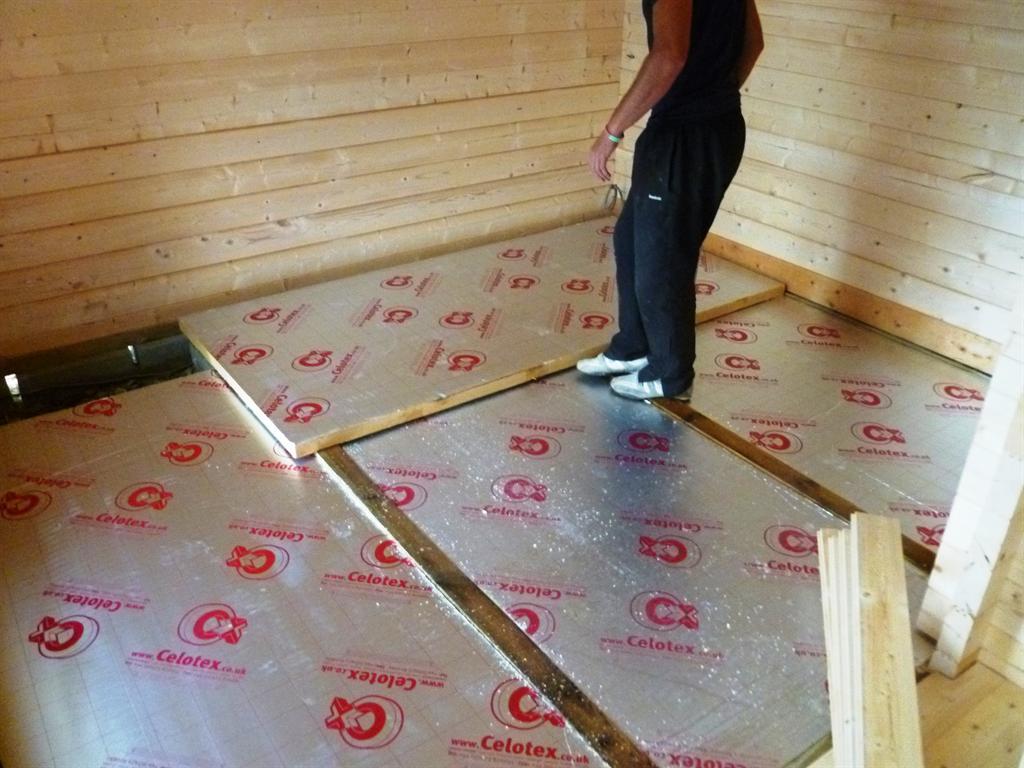 Технология утепления полов в деревянном доме