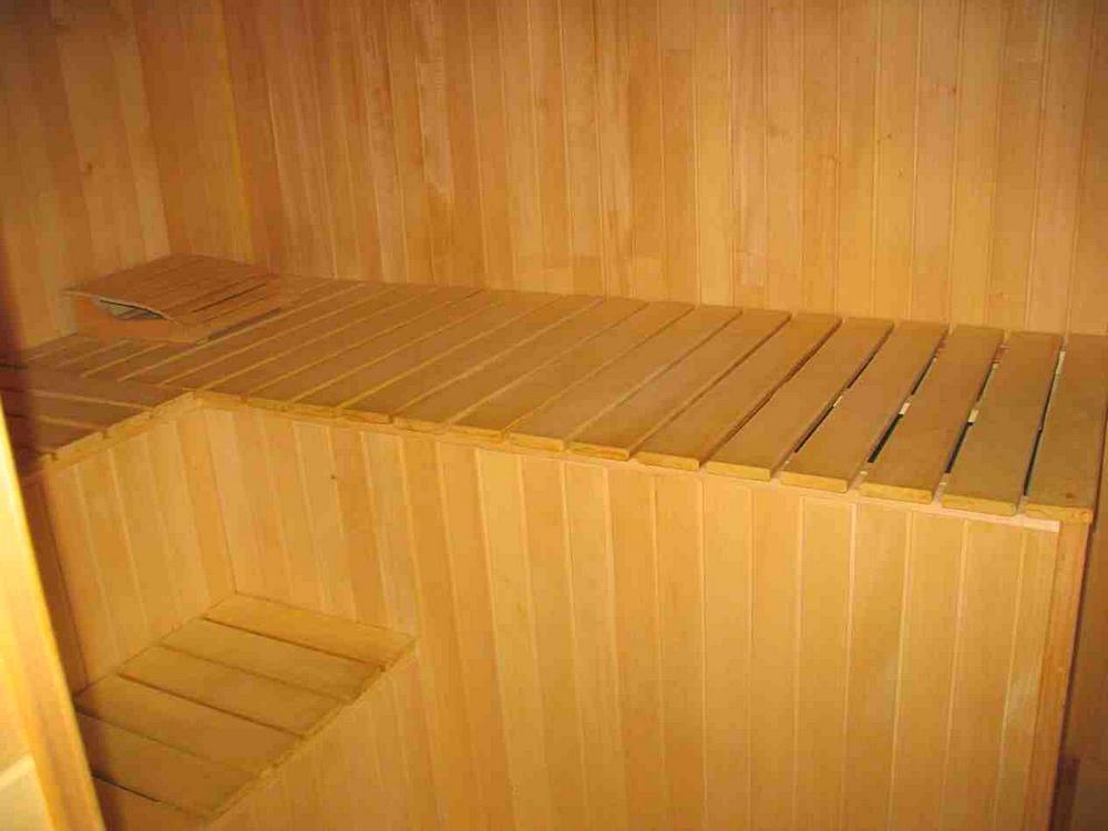 Как сделать скамейку в баню