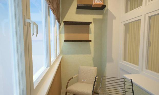 Как обить балкон
