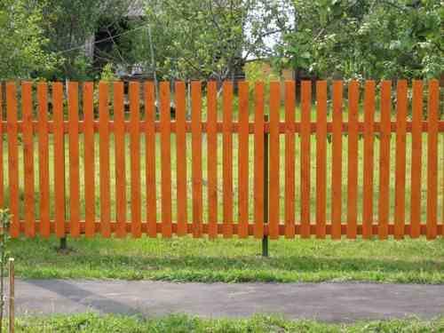 Дачный забор