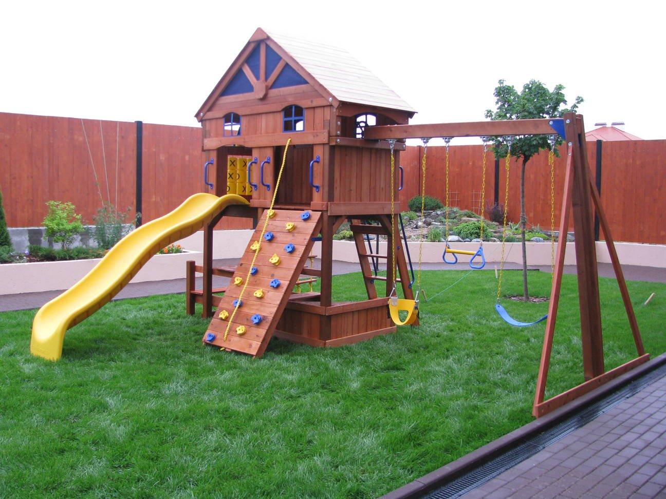 Строительство площадки для детей