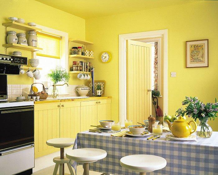 Ключи к успешной покраске кухни