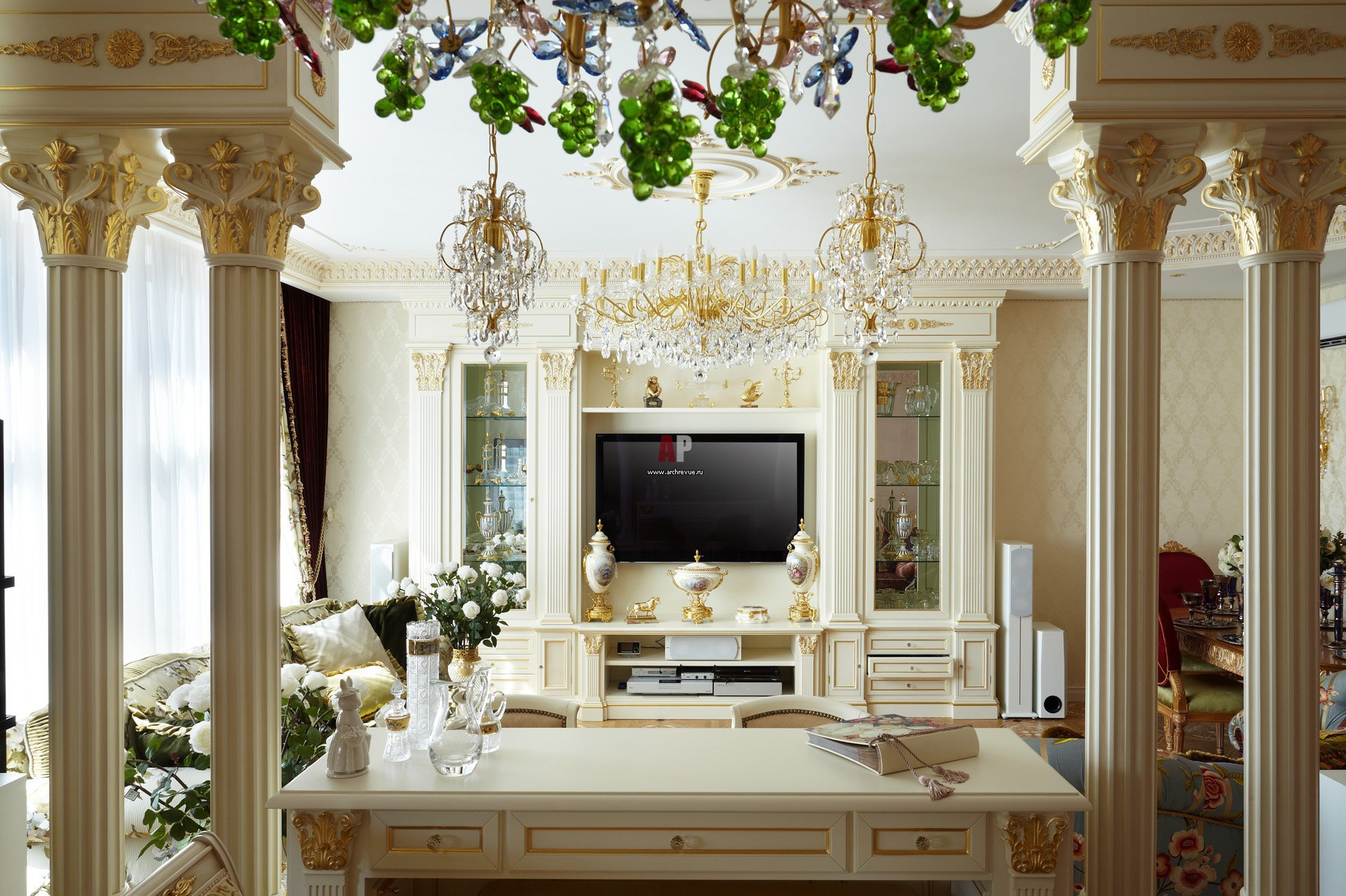 Красота дворца в вашей квартире