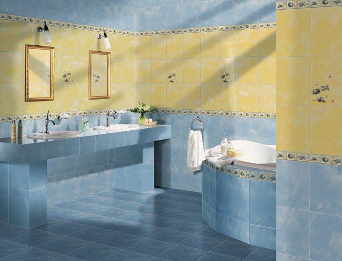Керамогранитная плитка для ванной комнаты