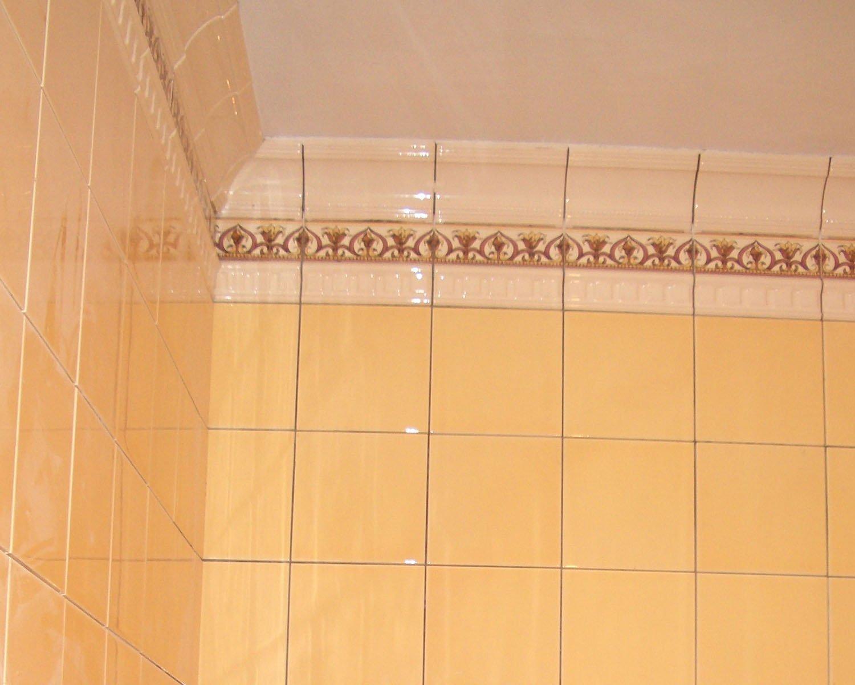 Технология укладки керамической плитки на потолок