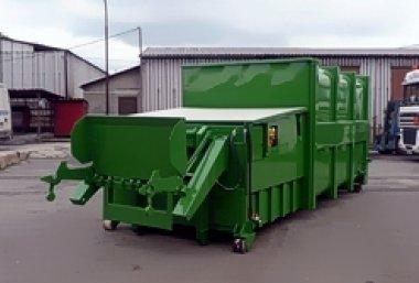 Компакторы для прессования отходов