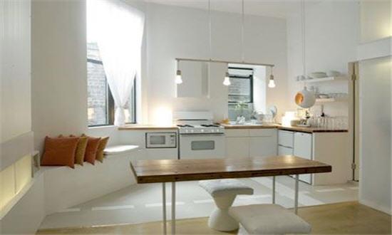 Как визуально увеличить пространство маленькой кухни?