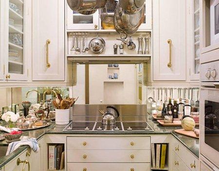 Функциональный и стильный дизайн небольшой кухни