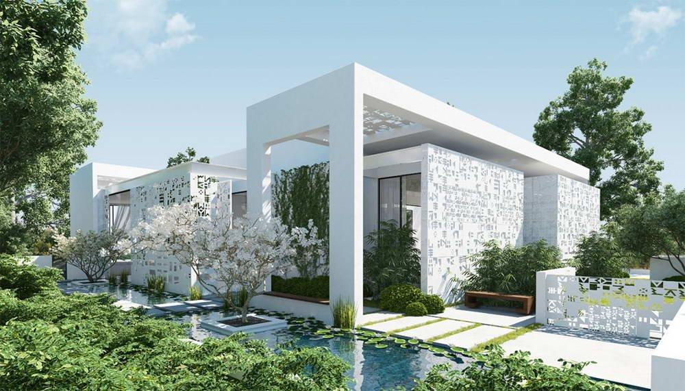 Проект дома и его визуализация