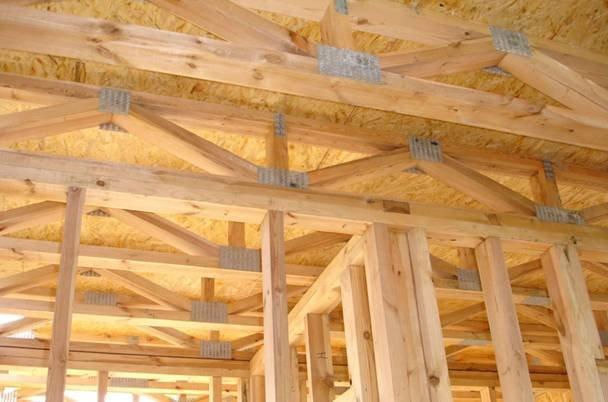 Принципы при строительстве каркасных домов
