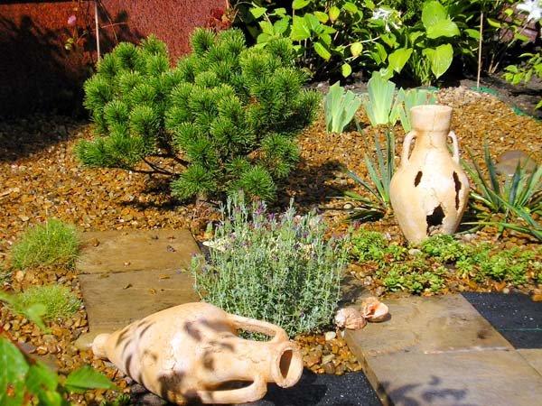 Садовая скульптура в ландшафте