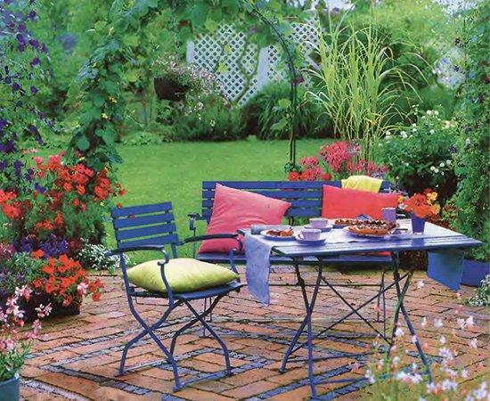 Идеи для создания уютного садового уголка