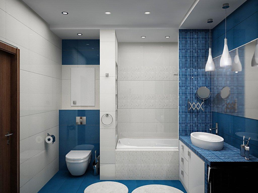 Дизайн оформления ванной комнаты