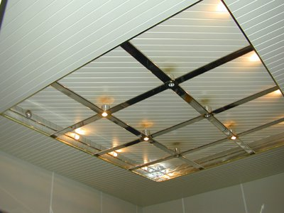 Подвесные металлические потолки