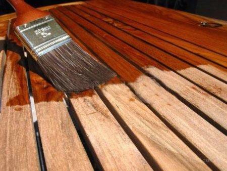 Как выбрать лак для покраски деревянной поверхности
