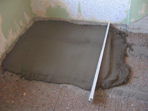 Выполняем работы по устройству бетонной подготовки