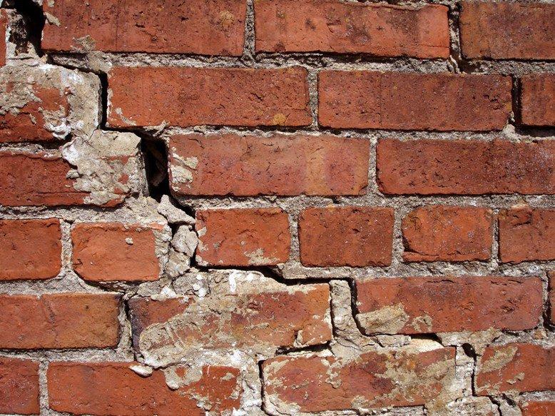 Ремонт трещин в стенах из кирпича