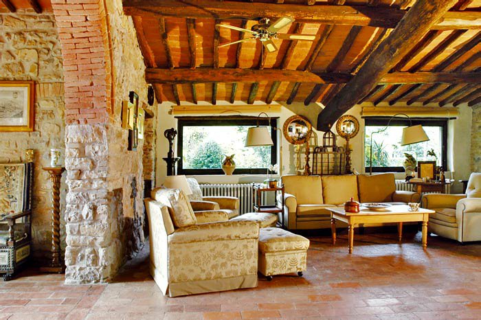 Интерьер дома в итальянском стиле