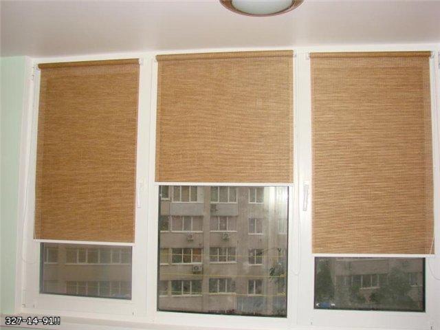Рулонные шторы в дизайне интерьера  квартиры