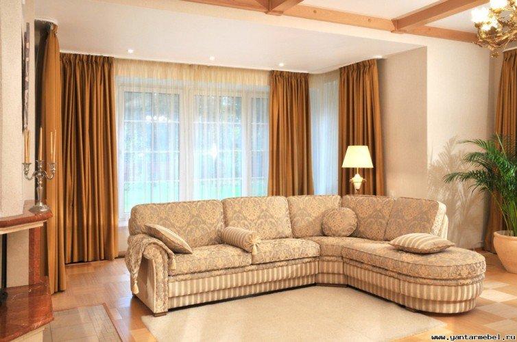 Критерии выбора углового дивана для гостиной