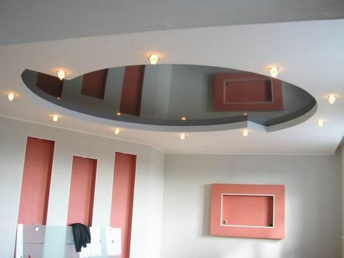 Делаем высоту потолка меньше