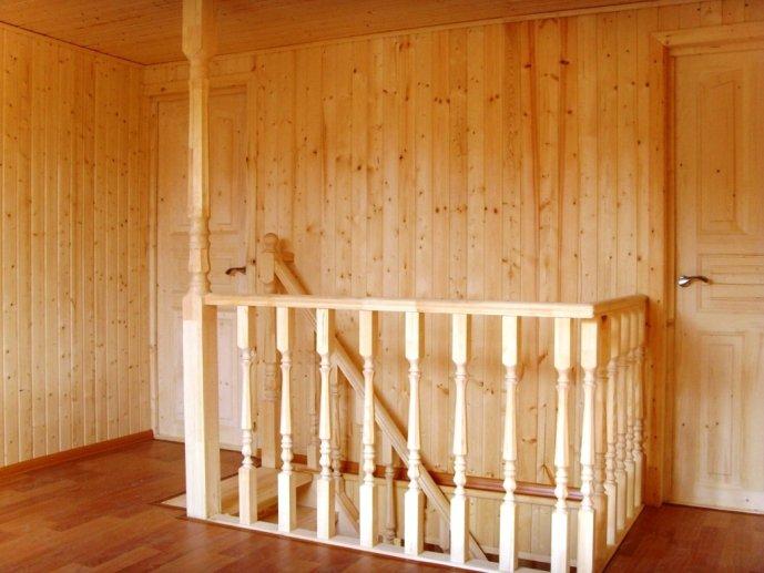 Обшивка стен вагонкой из древесины