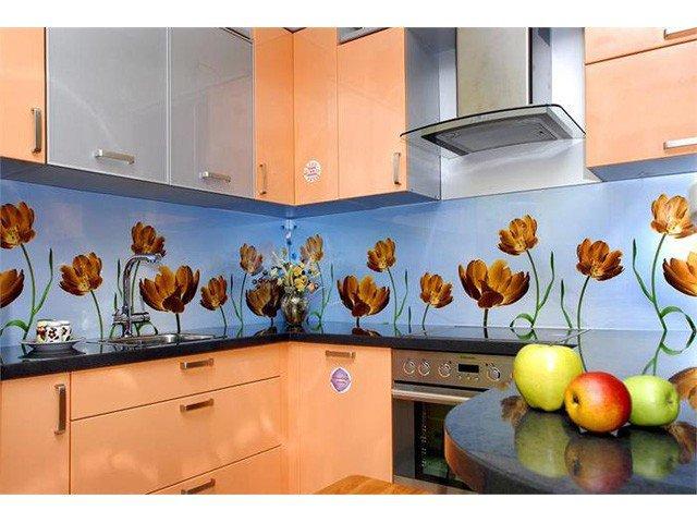 Оформление стен в кухонном помещении