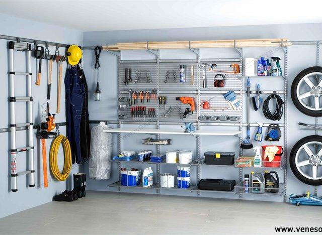 Обустройство внутреннего пространства в гараже
