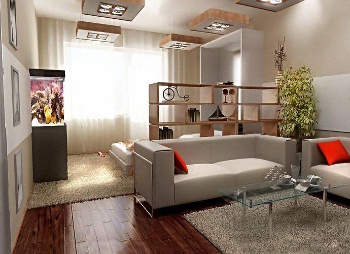 Спальня-гостиная в квартире – элементы дизайна