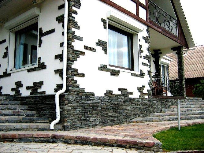Облицовочный декоративный камень – его разновидности и достоинства