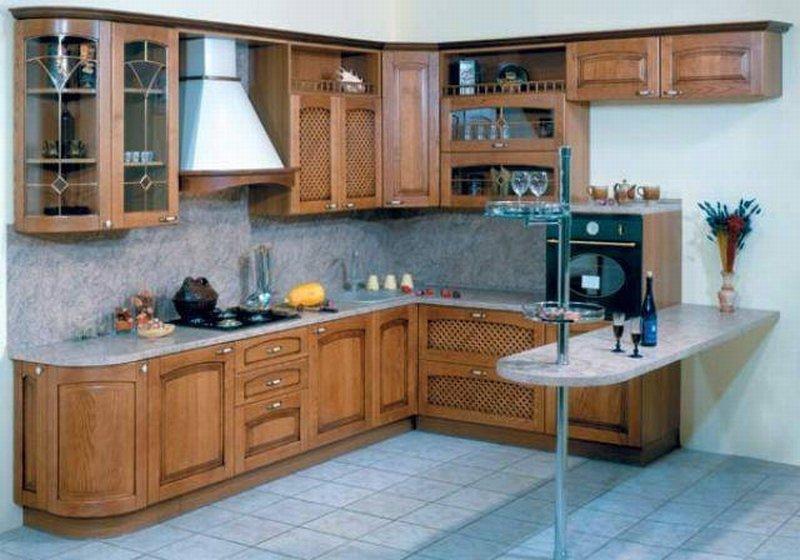 Особенности предметов мебели для кухни