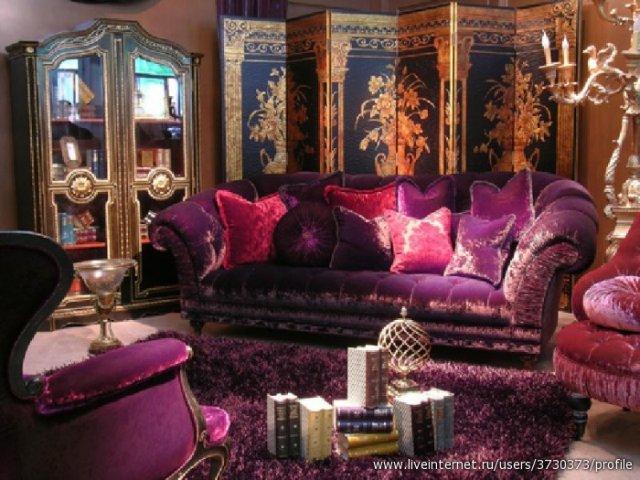 Стиль рококо в интерьере помещения