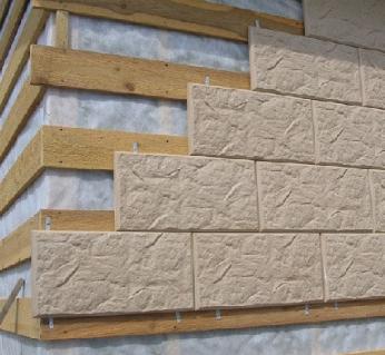 Материал для отделки фасада помещения