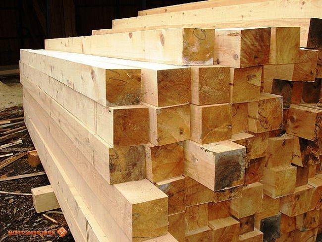 Разновидности деревянного бруса для строительства