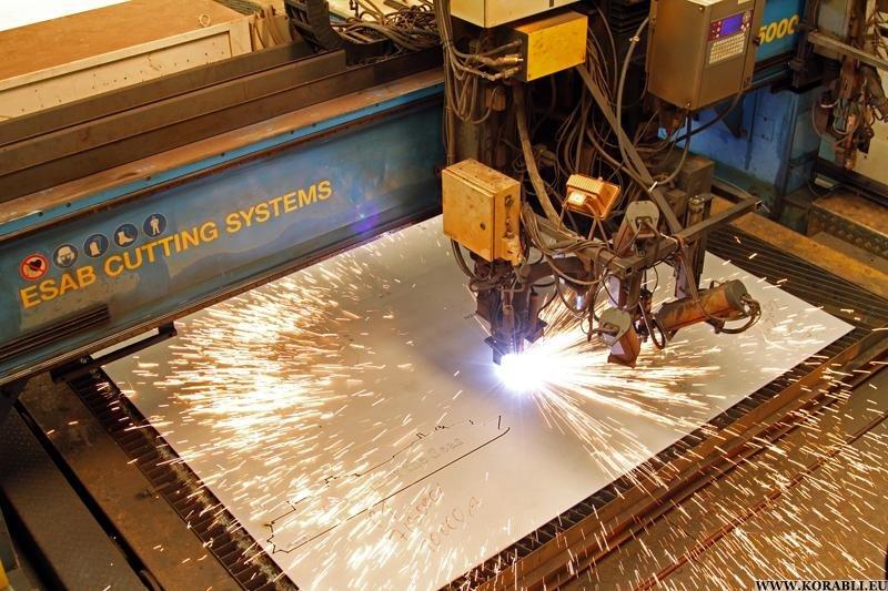 Особенности резки металлов лазером
