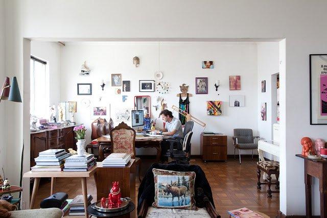 Эклектика в дизайне интерьера квартиры
