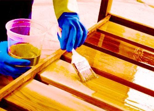 Некоторые особенности покраски мебели