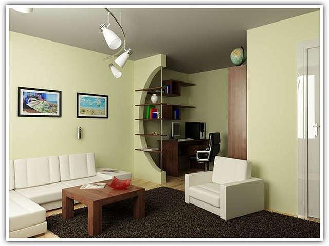 Визуальное увеличение внутреннего пространства помещения