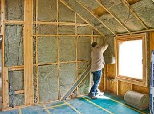 Внутреннее утепление дома из древесины