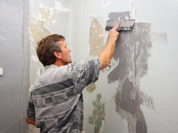 Подготовка бетонной поверхности к покраске