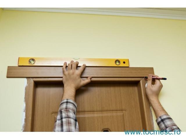 Самостоятельная установка дверных наличников